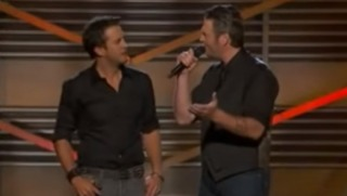 shelton and luke bryan