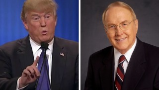 trump and james dobson