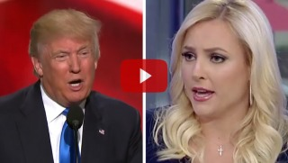 trump and meghan mccain