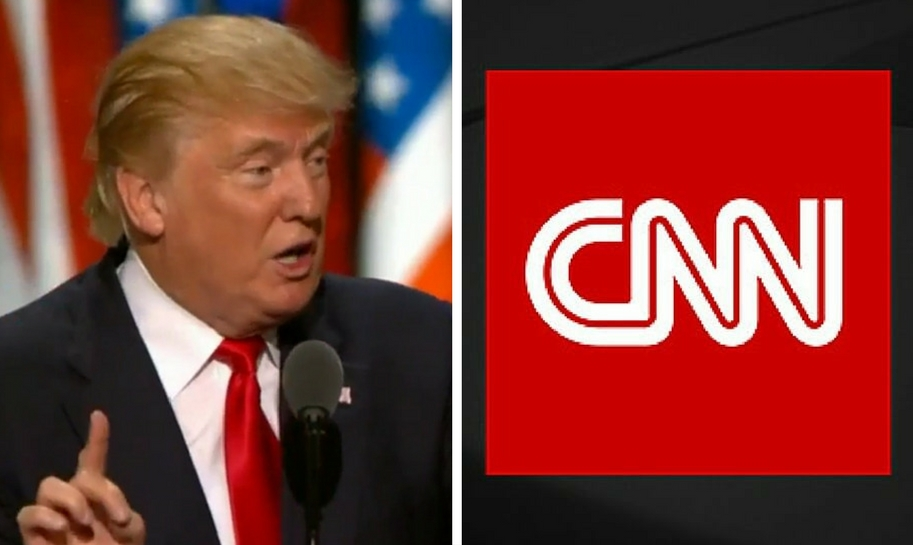 Trump Says CNN Fabricated Story That Secret Service Contacted His ...