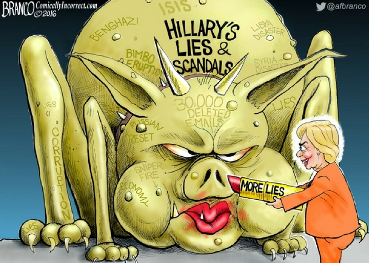 cartoonhillarymonster