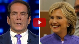 krauthammer-and-clinton