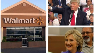 walmart trump and clinton