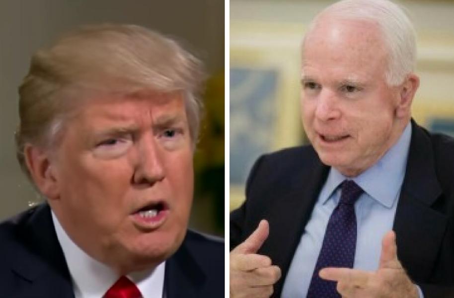 news mccain says flynn resignation shows dysfunction white house