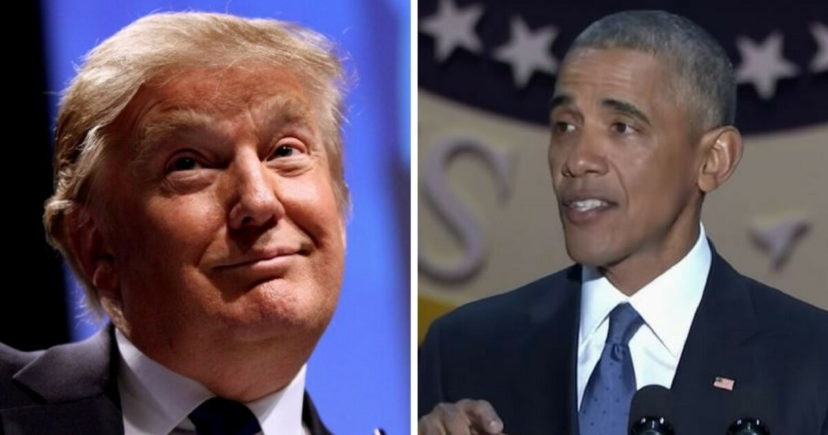 'Thanks Obama': Barack Takes Credit for Growing Economy... Under Trump