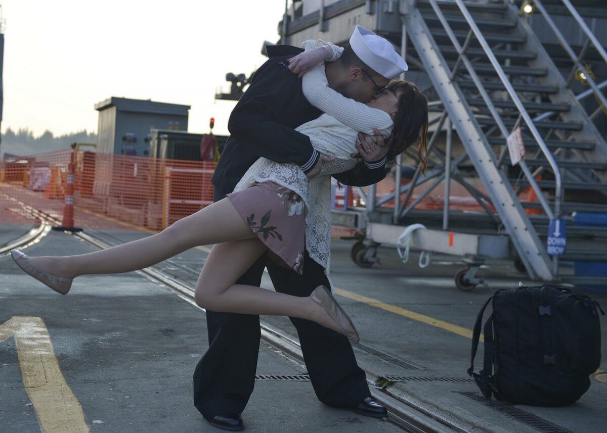 USS Nimitz sailor