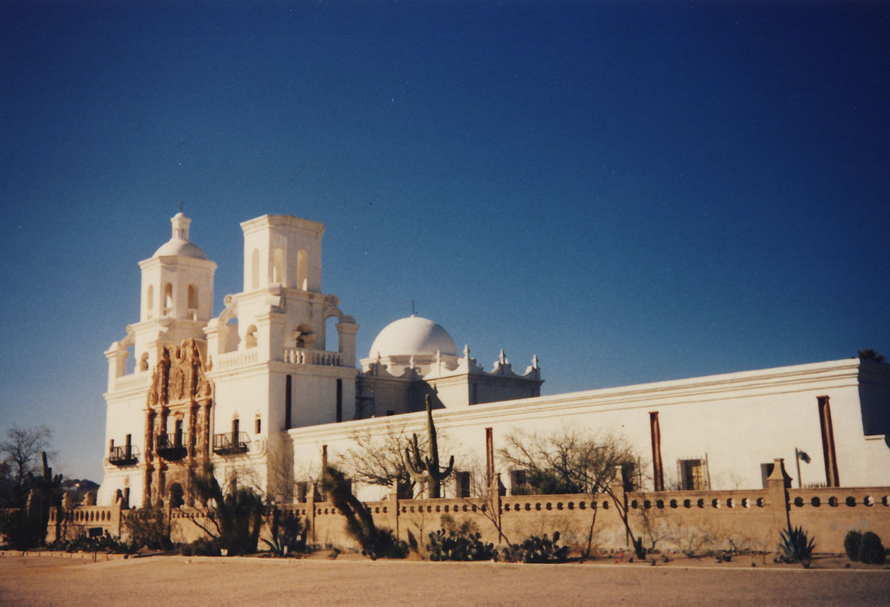 San Xavier del Bac, Arizona, top historical places to visit by state,