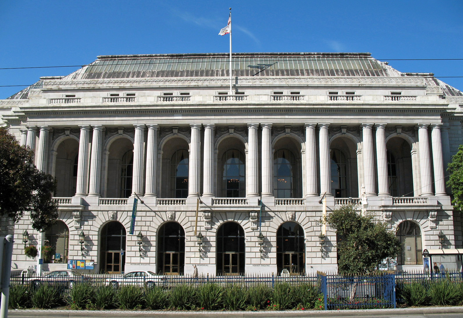 War Memorial, San Francisco, California, top historical places by state,