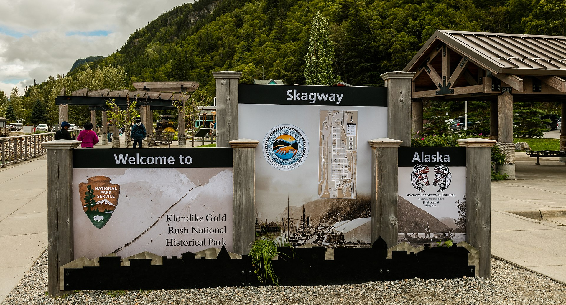 Alaska, top historical places to visit by state, Klondike Gold Rush,