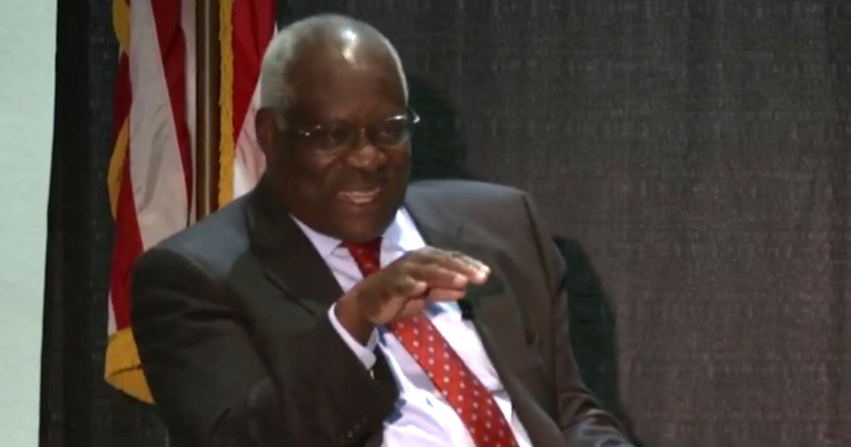 Justice Clarence Thomas Speaks Out on Corey Booker's Confirmation Hearing Stunt
