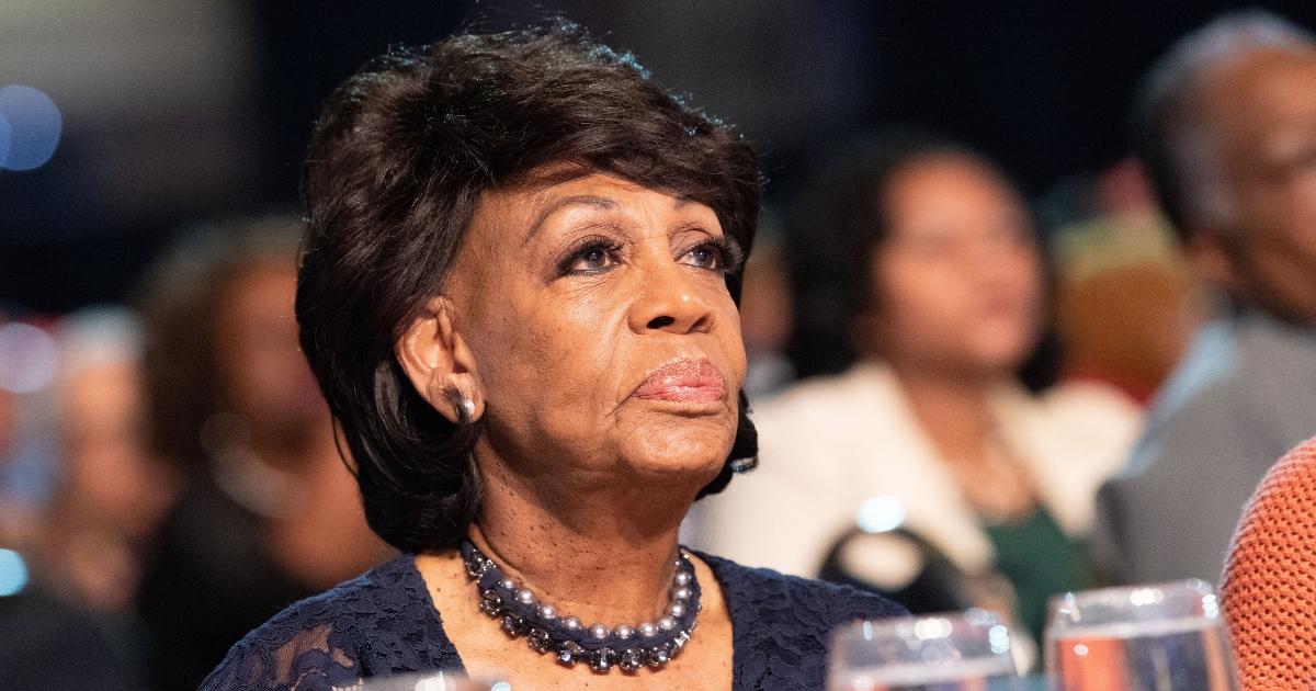 Watch: Maxine Waters Uses Slang Term for Killing While Talking About Trump, Pence