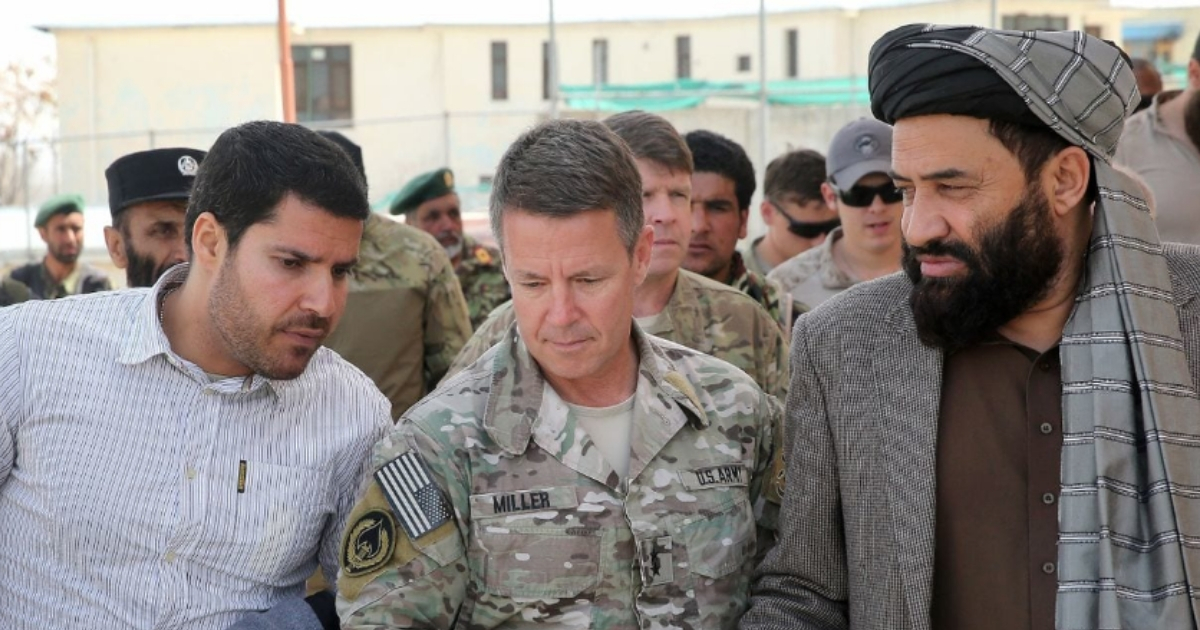 American General Survives Sneak Attack from Taliban