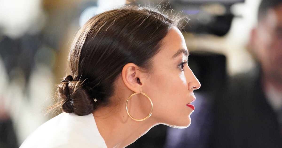 Ocasio-Cortez Caught Directly Contradicting Her Own Claim About the Green New Deal