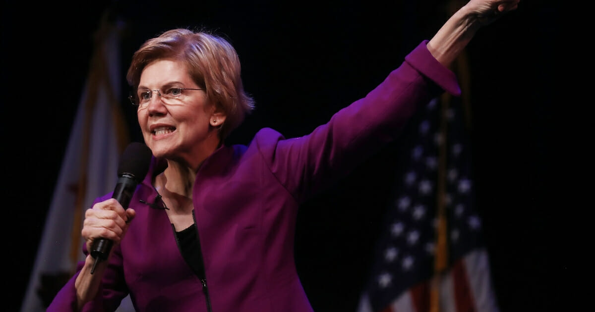 Elizabeth Warren Floats Reparations Before Discussing America's 'Ugly History of Racism'