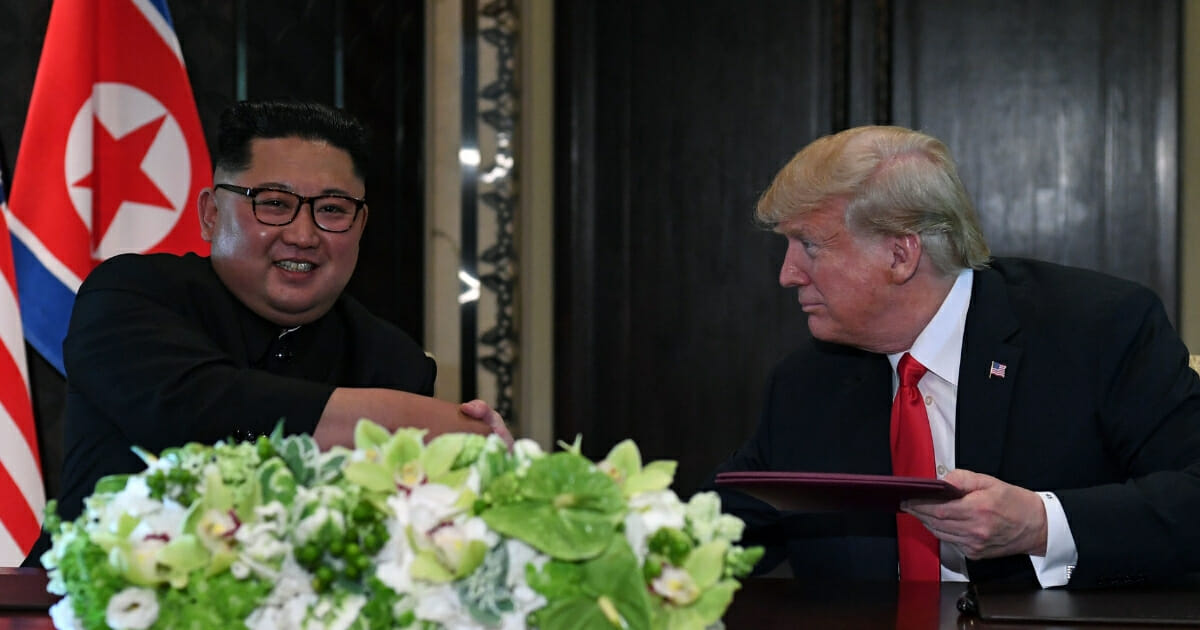 Trump Has a Big Bargaining Chip Up His Sleeve for Summit with Kim Jong Un