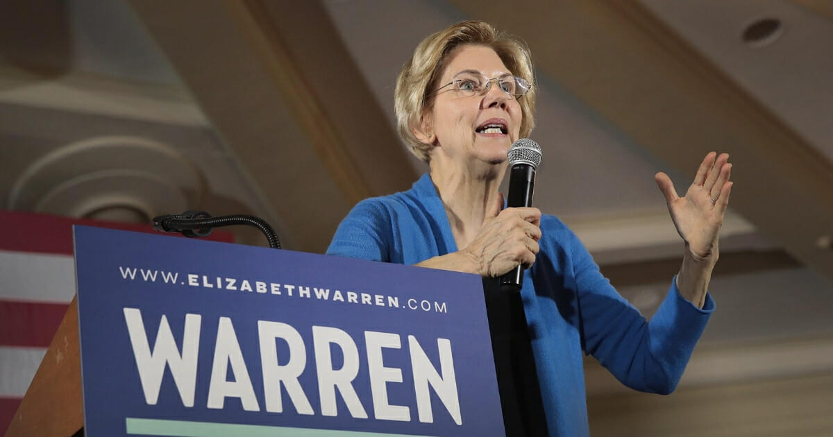 Warren Confronted During Rally: 'Why Did You Lie?'