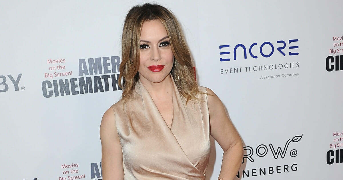 Alyssa Milano Calls for Boycott of Entire State After Lawmakers Try To Protect Unborn Babies