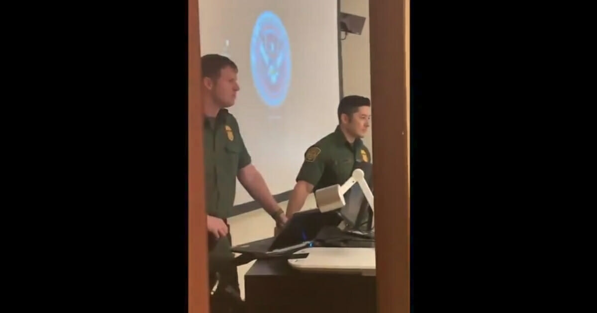 Watch: College Students Harass Border Patrol Agents, Liken Them to KKK
