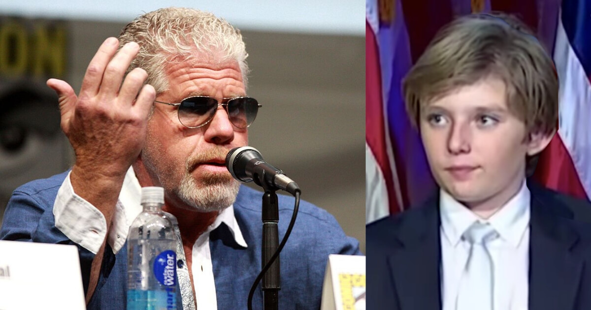 Lib Tough-Guy Actor Bites Off More than He Can Chew when He Picks On Barron Trump