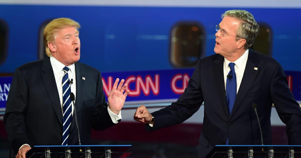 Jeb Bush Calls for a Republican Challenger to Take On Trump in 2020