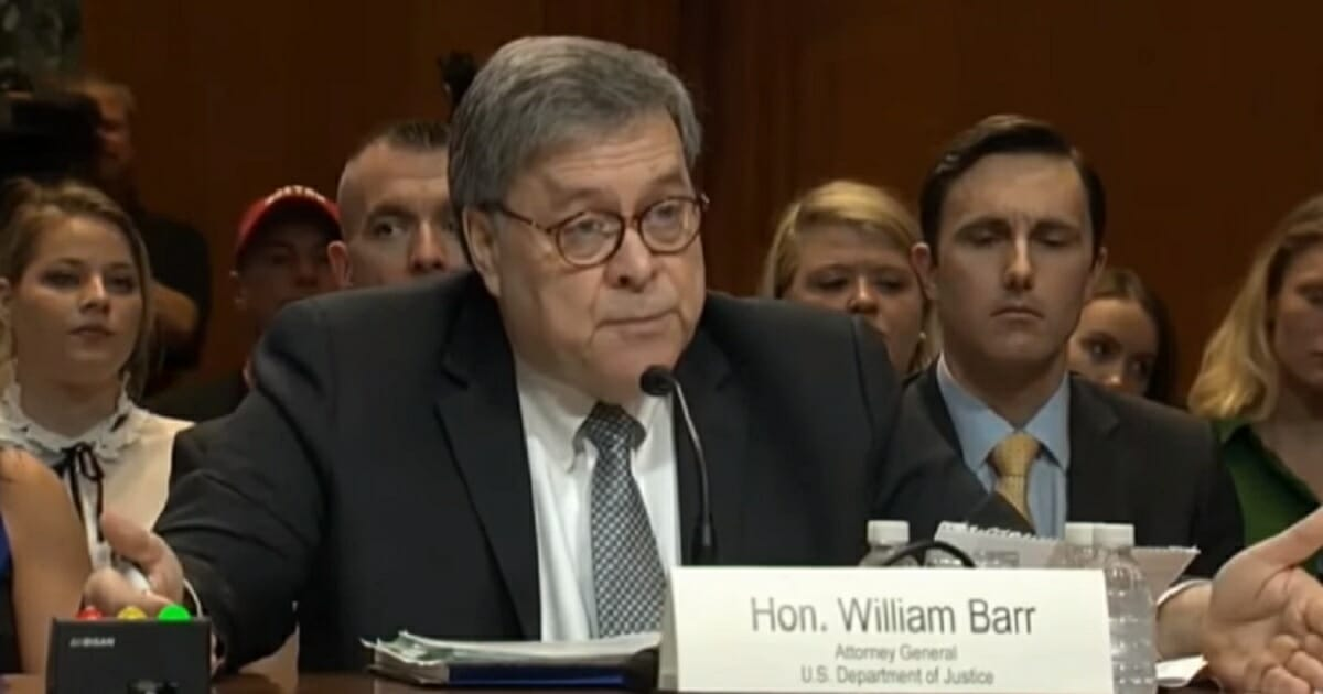 Attorney General Barr to Senate Committee: 'I Think Spying Did Occur' Against Trump Campaign