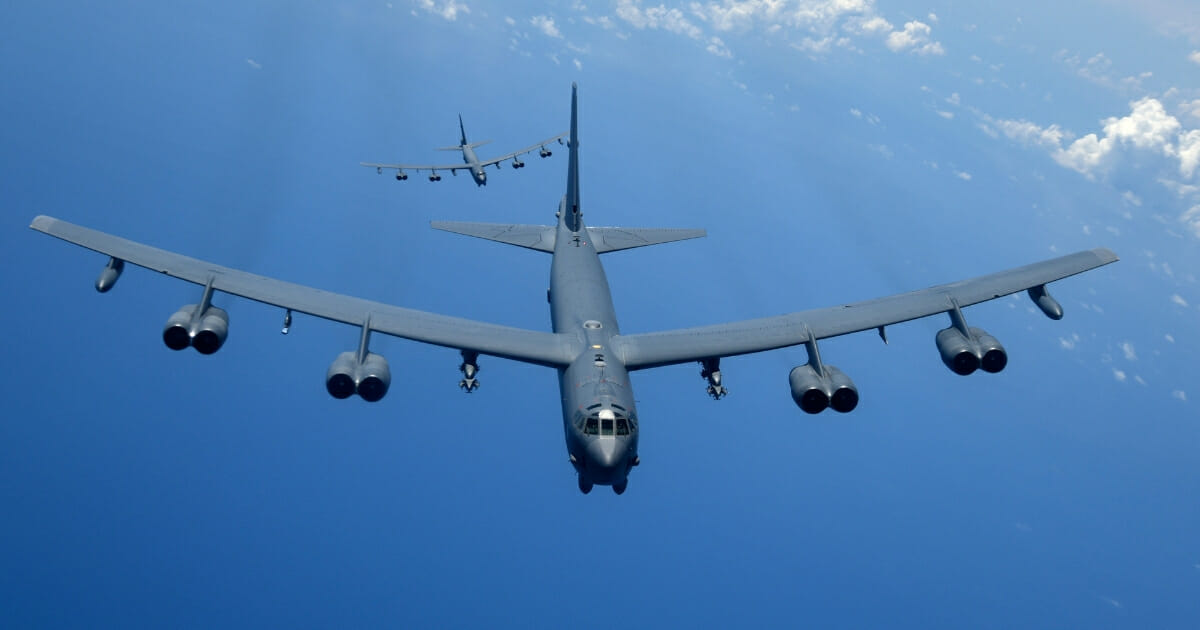 B-52 Bombers Scrambled in 'Clear and Unmistakable' Message to Iran