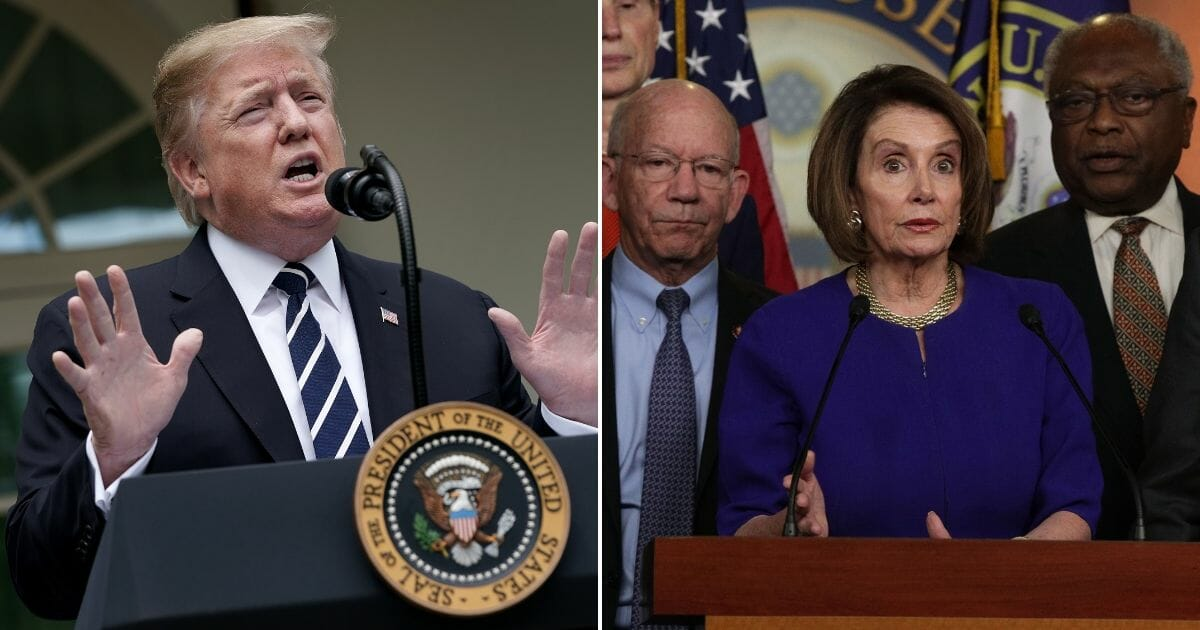 Trump Fires Back After Pelosi Claims He 'Engaged in a Cover-Up'