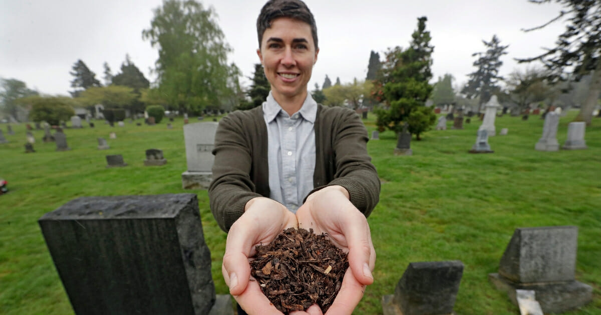 Washington Becomes the First State To Legalize Composting Human Bodies