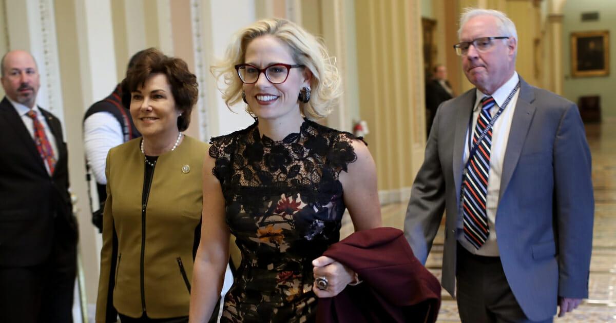 Democratic Senator Kyrsten Sinema Defies Colleagues by Posting Pro-Israeli Tweet
