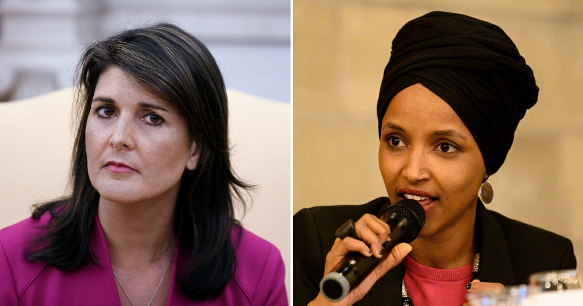 Nikki Haley Reminds Ilhan Omar Who Instigated Latest Round of Violence in Israel
