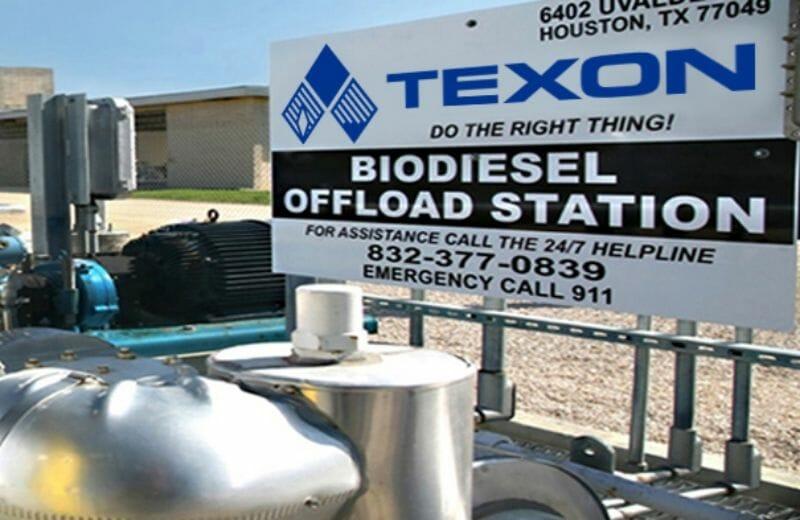Texon, Terry Looper's energy commodities company.