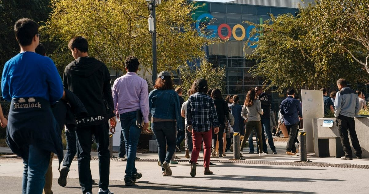 Republican Google Employee Reveals 'Outrage Mobs' Against 'Hateful Conservatives' at Tech Giant