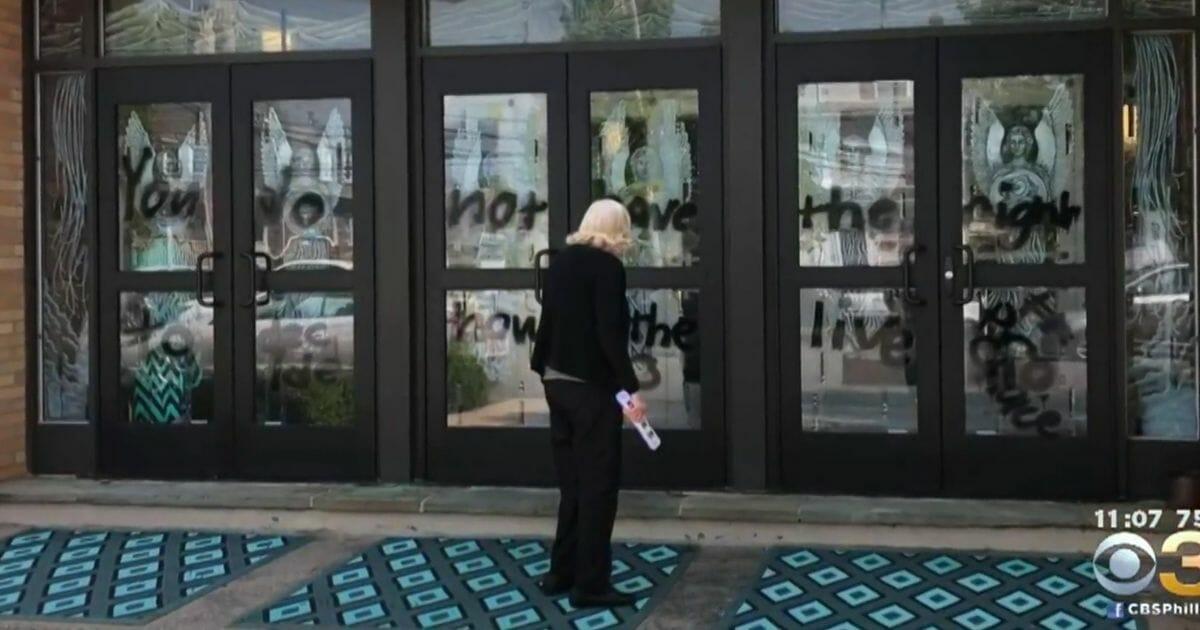 Church Vandalized with Pro-Abortion Graffiti: 'I Was So Upset'