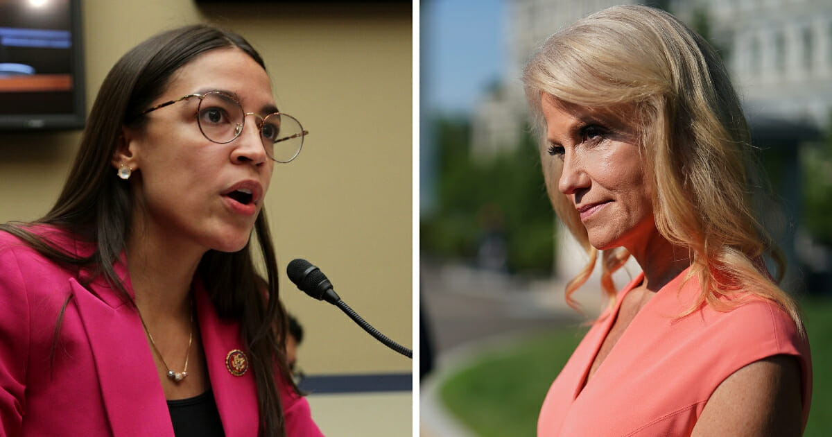 AOC Hits Kellyanne with Surprise 'Sexist' Accusation