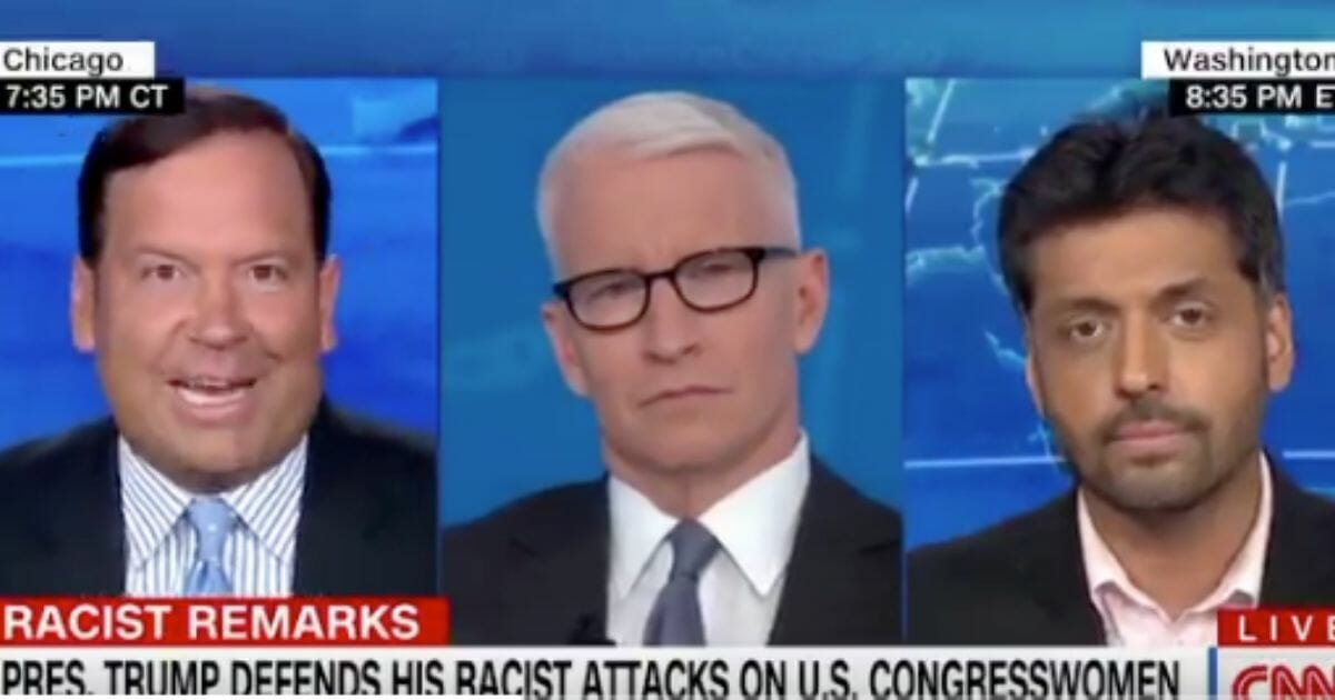 Pro-Trump CNN Pundit Angered by Colleague's 'Most Racist and Condescending Insult I've Ever Heard'