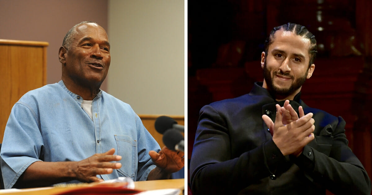 How Far Has Kaep Fallen? OJ Simpson Just Made Him Look Bad... OJ!