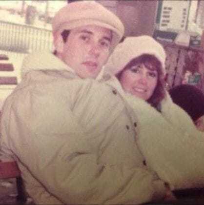 Mike Pence and Now-Wife Karen, Valentine's Day 1983.