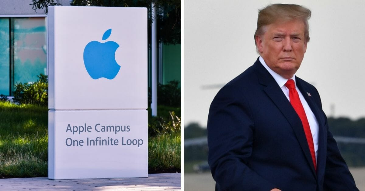Trump Cracks Down on Apple over Tariffs, Company's Stock Price Tumbles