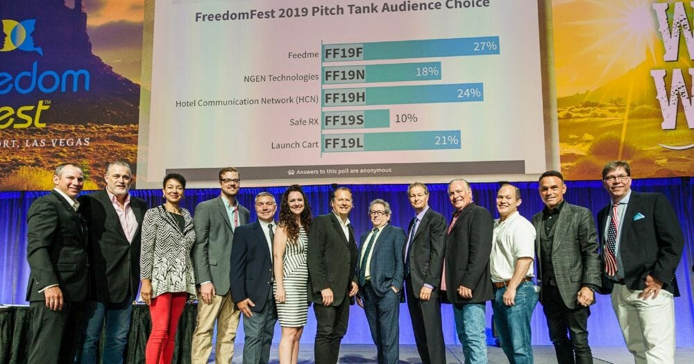 New App Aimed at Fighting Social Media Suppression Wins FreedomFest Pitch Tank Competition