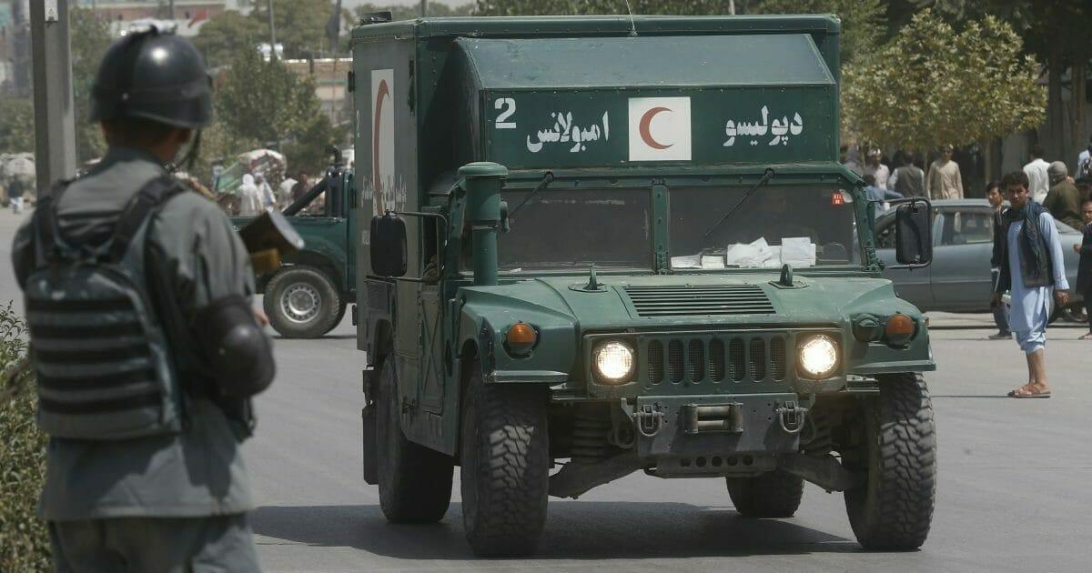 Afghan Officials Say Kabul Attack Killed 14