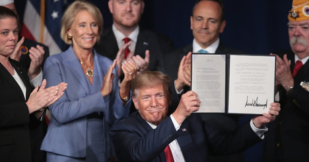Trump Signs Order Forgiving 'Every Penny' of Federal Student Loan Debt for Disabled Veterans