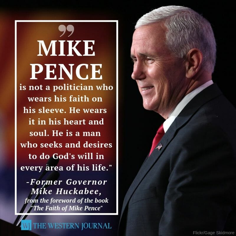 'The Faith of Mike Pence'