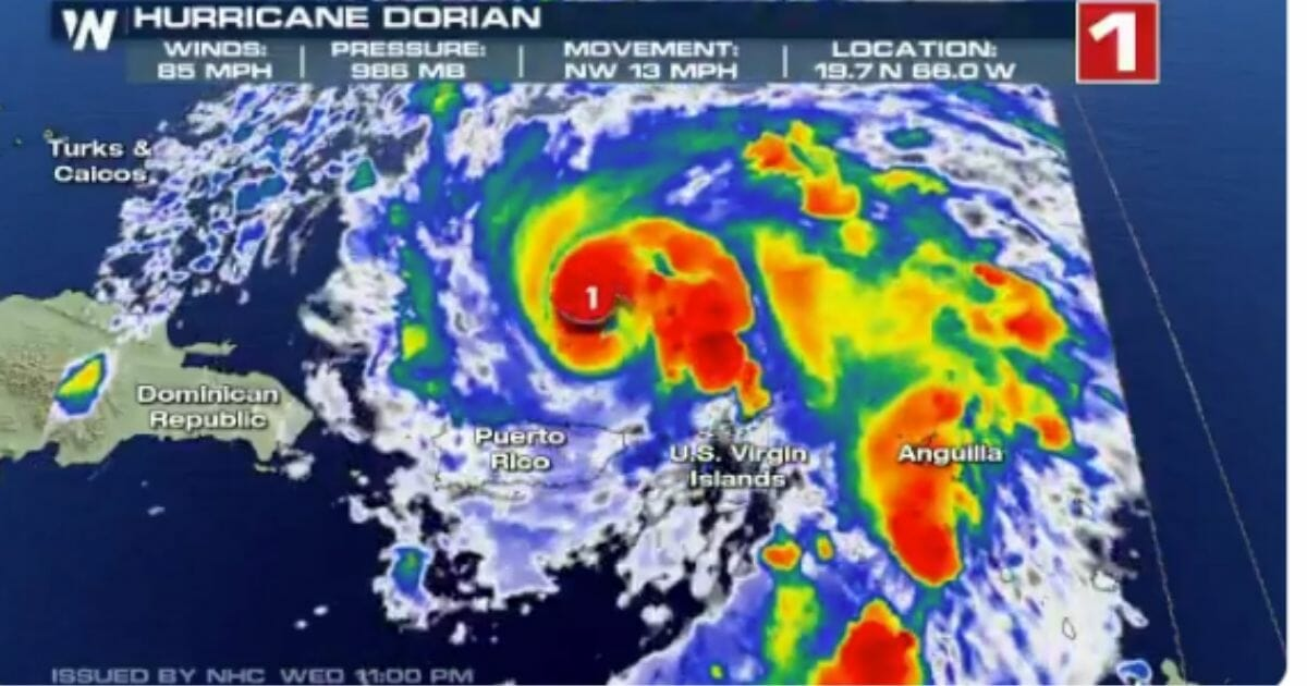 Latest Projection Shows Dorian Hitting US as a Major Hurricane