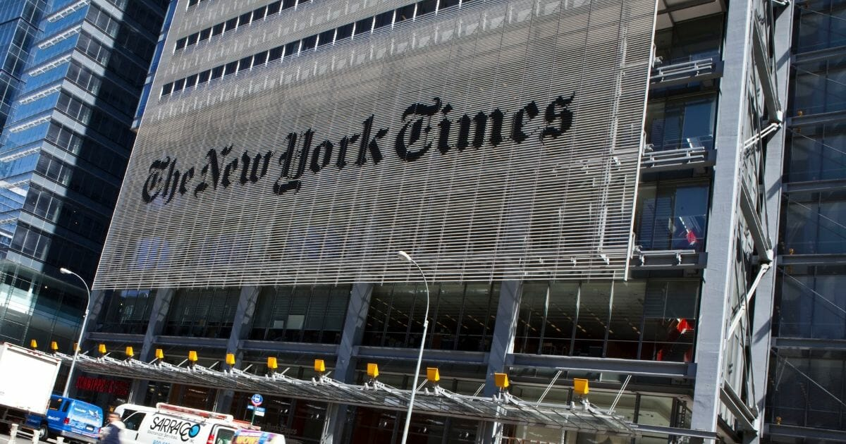 NYT's Attempt to Smear The Western Journal's Credibility Fails Even the Most Basic Fact Checks