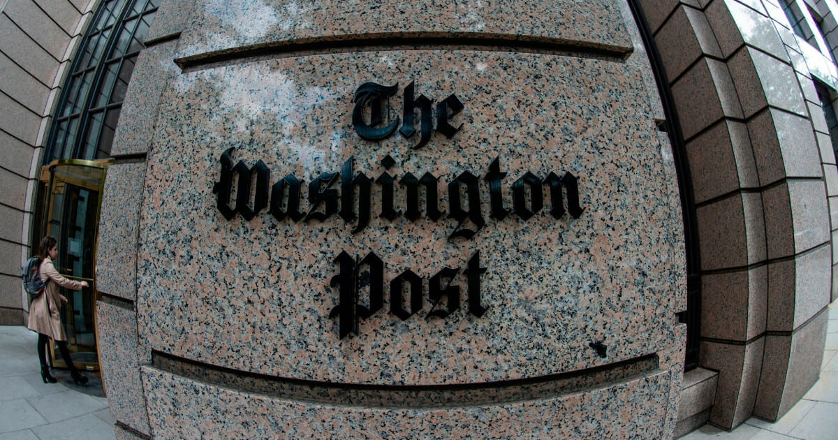 Washington Post 'Embarrassed' by Error-Riddled Story That Required 15 Corrections