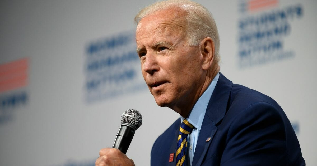 Biden Caught on Camera Grabbing Female Student: 'Don't Play Games with Me, Kid'