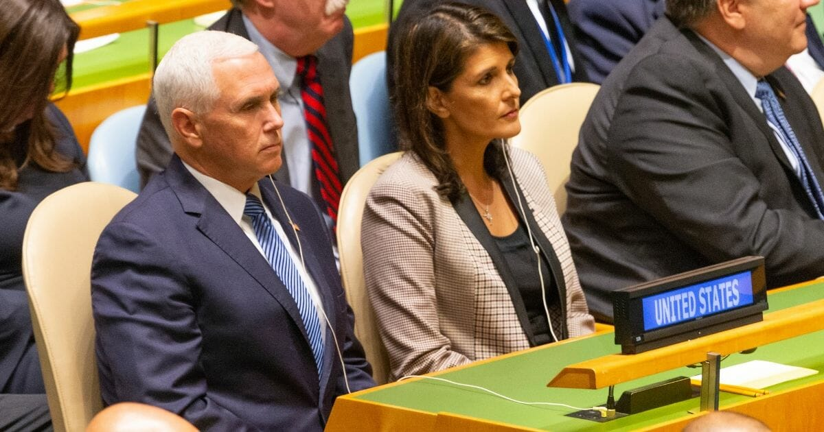 Report: Rivalry Between Nikki Haley and Mike Pence Simmering as Both Eye Potential 2024 Runs
