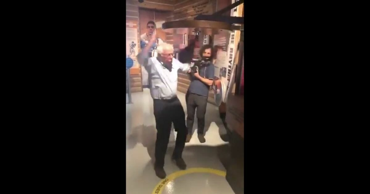 Bernie Sanders' Boxing Session Goes Very Wrong When Punching Bag Punches Back