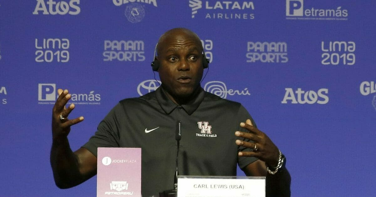 Olympic Gold Medalist Carl Lewis Backs Equal Pay For Women, Calls Trump Racist