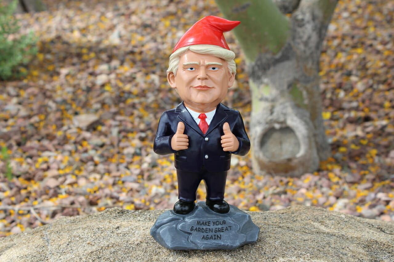 Donald Trump Gnome